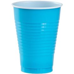 Party Dimensions 82332 20 Count Plastic Cup, Island Blue -- Check out the image by visiting the link. Plastic Plates, Plastic Cups, Blue Cups, Disposable Tableware, Party Cups, Guest Towels, Island Blue, Count, Kitchen Gadgets