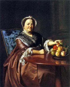 John Singleton Copley -- Mrs. Gondthwaite, 1771