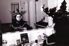 Montserrat Caballé (pictured here backstage) sang the first Turandot of her career with San Francisco Opera