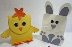 Paper Peeps for Easter Treats - Wild West Paper Arts Easter Peeps, Easter Party, Easter Treats, Paper Art, Paper Crafts, Marshmallow Peeps, Treat Holder, Craft Projects, Project Ideas