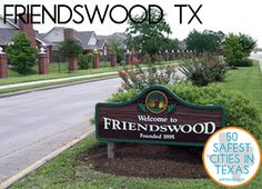 My home ☺️ Friendswood, TX: 3rd safest city in texas