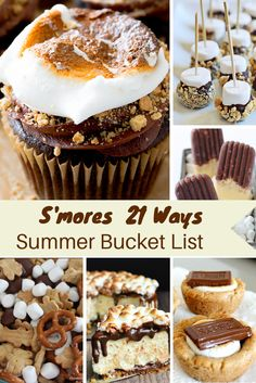 Mommy's slice of the pie: S'mores 21 Ways Summer Bucket List