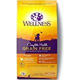 Wellness Complete Health Natural Grain Free Dry Puppy Food, Chicken & Salmon, Bag - Works as designed and well built.This Wellness Natural Pet Food tha Large Breed Puppy Food, Large Dog Breeds, Small Breed, Small Dogs, Chicken And Brown Rice, Salmon And Rice, Chicken Rice, Turkey Chicken, Free Puppies