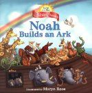 Noah Builds an Ark (Jump at the Sun Bible Classics) Bible Stories For Kids, Ark, Sunday School, My Books, Singing, Children's Bible, Reading, Building, Classic