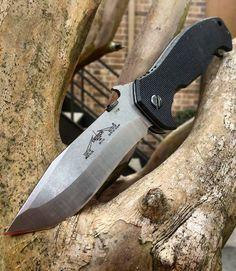 Emerson Mini CQC-15 EDC Folding Knife Blade with Black G-10 Handle - Everyday Carry Gear