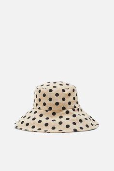6a7c2b07 LIMITED EDITION POLKA DOT BUCKET HAT - Hats   Headbands-ACCESSORIES-WOMAN    ZARA
