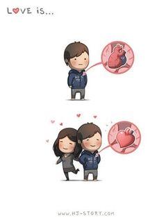 Love is... Hj story <3