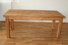 Masivní stůl dub rozměr 160*80 170*80 180*80 - obrázek číslo 1