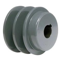 Sheave, Bore 1-1/8 In, 2 Groove, Solid by Tb Wood'S. $64.99. Fixed Bore Light-Duty Cast Iron SheavesEfficient and lightweightStandard keyway with setscrewSheave, Fixed Bore Type, Bore Dia. 1-1/8 In., Fits Shaft Dia. 1-1/8 In., Outside Dia. 3.35 In., 2 Groove, Solid Construction, 4L or A Belt Pitch Dia. 2.6 In., 5L or B Belt Pitch Dia. 3 In., 1/4 x 1/8 In. Keyway, Standard Setscrew, Gray Color, Iron Material, For Use With 4L, A, AX, 5L, B, or BX Type V-belts