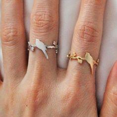 Silver Bird Perched Ring | The Alchemy Shop, LLC