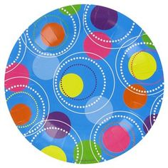Large blue circle plates $6/20   Small blue circle plates $5/20 http://shop.hobbylobby.com/products/small-blue-with-circle-patterned-plates-380352/