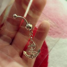 #anchor #bellybutton #ring #piercing