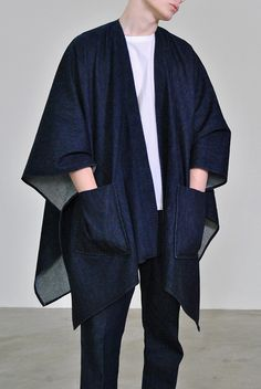 We Are Selecters - denim poncho