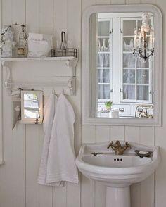 Shabby Chic Con Amore - Casa Shabby Chic.: Come creare un bagno nello stile Shabby Chic?