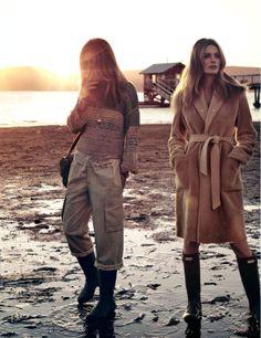 Andreea Diaconu & Edita Vilkeviciute by Mikael Jansson for Vogue Paris May 2014