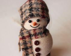 Decoración de la Navidad del muñeco de nieve por TwineDreams