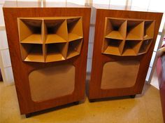 LOVELY PAIR OF VITAVOX BITONE 6200 speakers