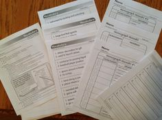 RtI Intervention Activity Boxes