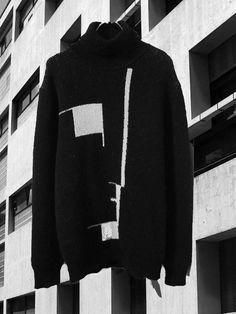Bauhaus jumper by Raf Simons.