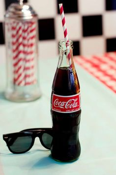 50's Diner Soda Shop Retro Birthday Party Birthday Party Ideas | Photo 8 of 32 | Catch My Party