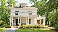 Montgomery, Alabama-based designer Ashley Gilbreath works through years of neglect to restore her 1910 Craftsman-style home that's just doors down from where Zelda Fitzgerald once lived.