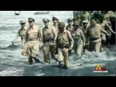 """General Mcarthur: """"People of the Philippines, I have returned"""" - YouTube"""