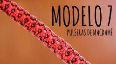 Tutorial de como hacer esta pulsera en macramé / Learn how to make this bracelet (DIY) #macramé #diy #tutorial #tuto #doityourself #comosehace #tutoriales #youtube #macrame #manualidad #hilo #nudo #modelo #pulsera