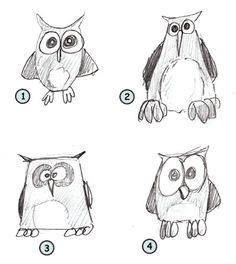 These are simple enough for me to draw... maybe I'll try?