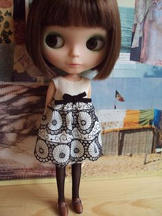 Black&white Lotte | Was so excited by my vintage trims I had… | Flickr