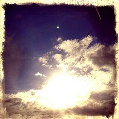 Sunny sky.