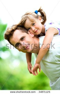 stock photo : Father and Daughter