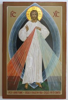 """Divine Mercy Novena Day 4 Fourth Day """"Today bring to Me those who do not believe in God and those who do not know Me, I was thinking also of them during My bitter Passion, and their future zeal comforted My Heart. Immerse them in the ocean of My. Religious Images, Religious Icons, Religious Art, Divine Mercy Novena, Miséricorde Divine, Jesus In The Temple, Jesus Art, Byzantine Icons, Jesus Pictures"""