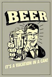 Vintage Beer Funny