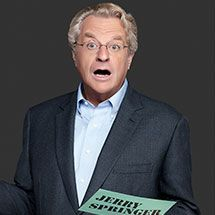 Jerry Springer, known for The Jerry Springer Show will be at New York Comic Con - NYCC