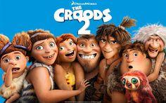 Familia preistorica Croods se întorc la situațiile comice lor vechi într-o lume…
