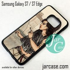 Amy Winehouse 5 Phone Case for Samsung Galaxy S7 & S7 Edge