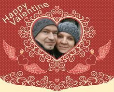 Awesome Pic Created by PhotoMontager.com Happy Valentines Day, Projects To Try, Places To Visit, Create, Awesome, Home Decor, Art, House, Ideas