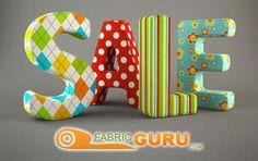 Fabric Sale!