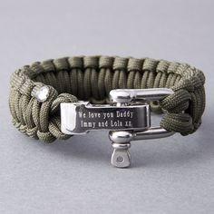 550 Paracord Survival Bracelet Cobra Bleu Marine//Carolina Bleu Camping Tactique