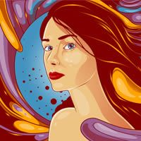 Create a Flowing Vexel Illustration in Photoshop   Psdtuts+