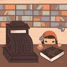Goodwill librarian