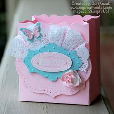 Stampin' Up! Fancy Favor Box by Creative Chat: Creative Crew - Party Favor