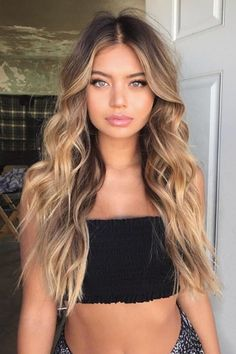 71 most popular ideas for blonde ombre hair color - Hairstyles Trends Blond Hairstyles, Natural Hairstyles, Casual Hairstyles For Long Hair, Model Hairstyles, Gorgeous Hairstyles, Fashion Hairstyles, 2015 Hairstyles, Trendy Hairstyles, Wedding Hairstyles