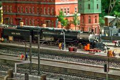原鉄道模型博物館(ジオラマ中のBig Boy)