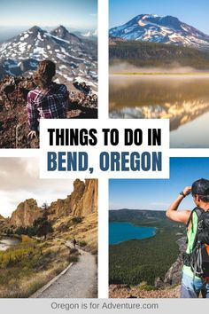 Bend is an adventurer's playground, so it's no surprise that we base ourselves here for part of the year. There are so many adventures to be had around Bend that it can be hard to know where to start, that's why we put together this list of the best Bend adventures to put on your Bend adventure bucket list! | Oregon is for Adventure #bend #oregon #adventure Usa Travel Guide, Travel Usa, Budget Travel, Travel Guides, Travel Tips, Cool Places To Visit, Places To Go, Us Travel Destinations, Us Road Trip