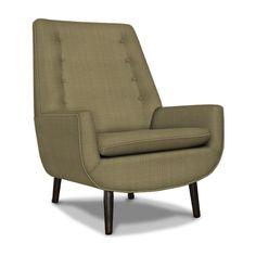 Jonathan Adler Mr. Godfrey Chair (green monster graffiti upholstery option)