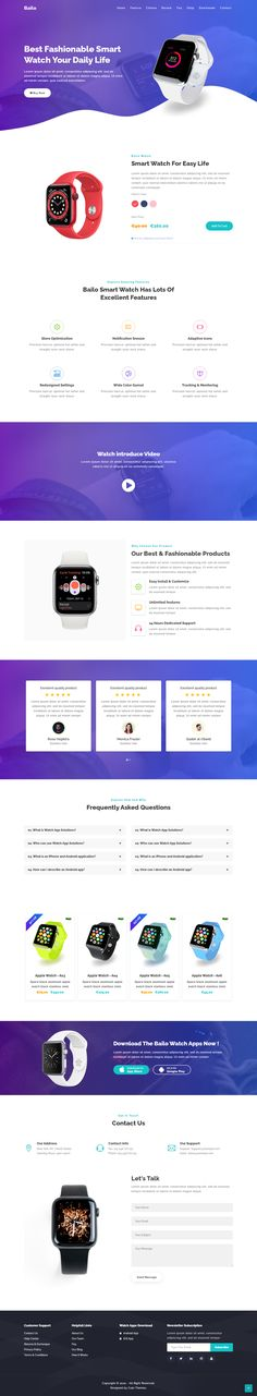 Bailo – Product Landing Page HTML Template. Bailo is an awesome product landing page HTML template to present your product and Affiliate Product Marketing. #productlandingpage #productwebsite #landingpageexample Landing Page Html, Landing Page Examples, Best Landing Pages, Landing Page Design, Html Templates, Page Template, Website Template, Landing Page Inspiration, Design Inspiration