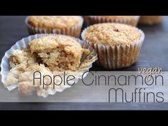 Vegan Apple Cinnamon Muffins, Vegan Cooking with Love