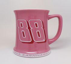 US $24.00 New in Sports Mem, Cards & Fan Shop, Fan Apparel & Souvenirs, Racing-NASCAR Nascar, Dale Earnhardt Jr, Everything Pink, Pink Gifts, Coffee Mugs, Racing, Fan, Ceramics, Sports
