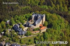 Burg Lauenstein, Luftaufnahme